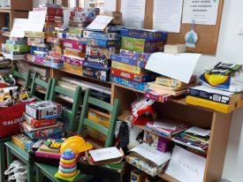 Kapcsolódj be te is! – Önkéntesek a közösségért játékgyűjtése