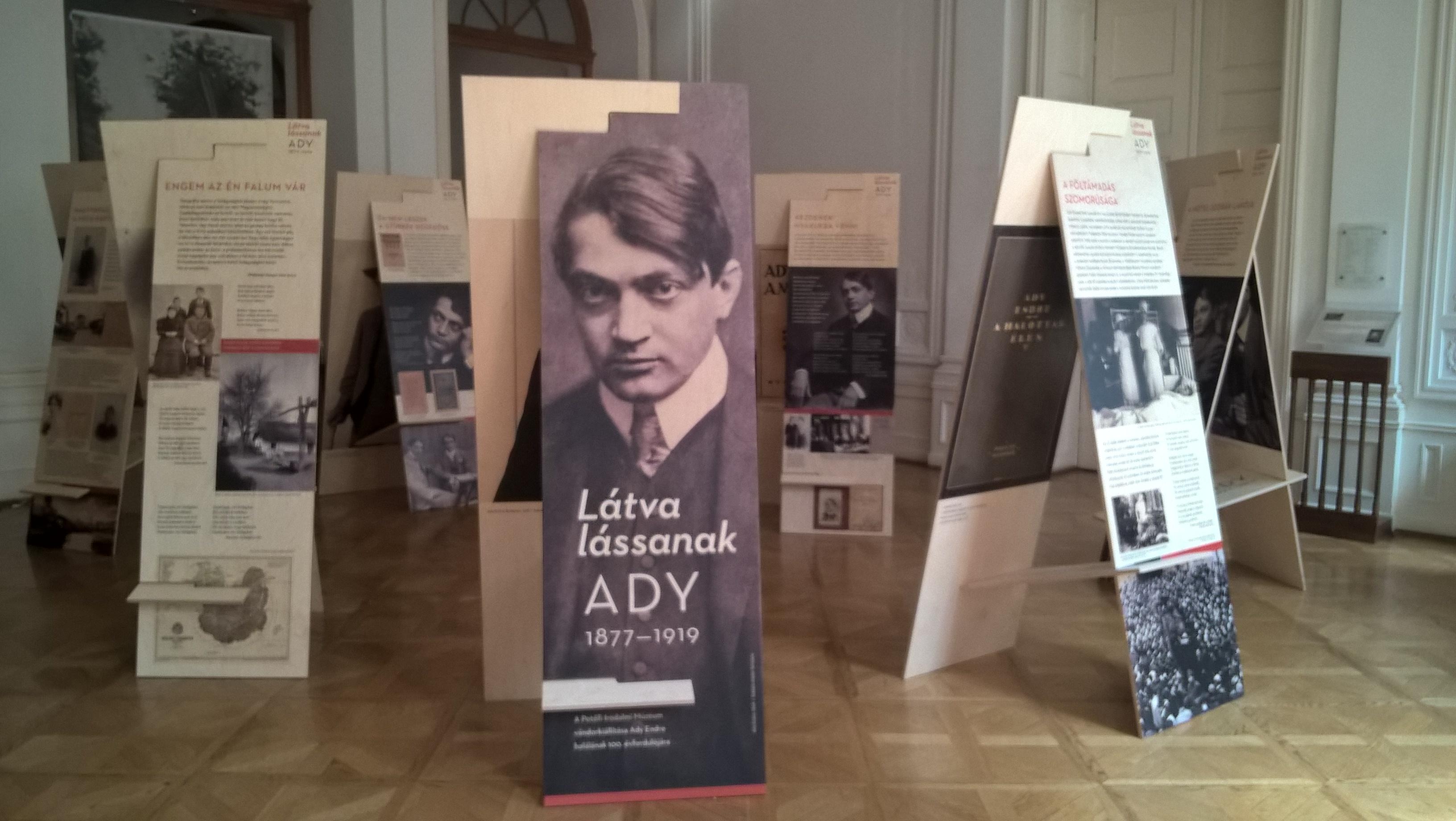 Látva lássanak – vándorkiállítás Ady Endréről a IV. Temesvári Magyar Napokon