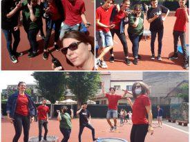 Önkénteseink a Gyereknapi játszóházban