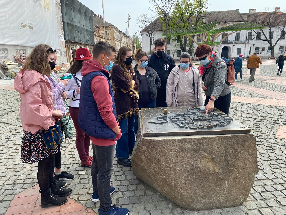 Városnéző tanulmányút Az én Temesvárom tehetséggondozó programban