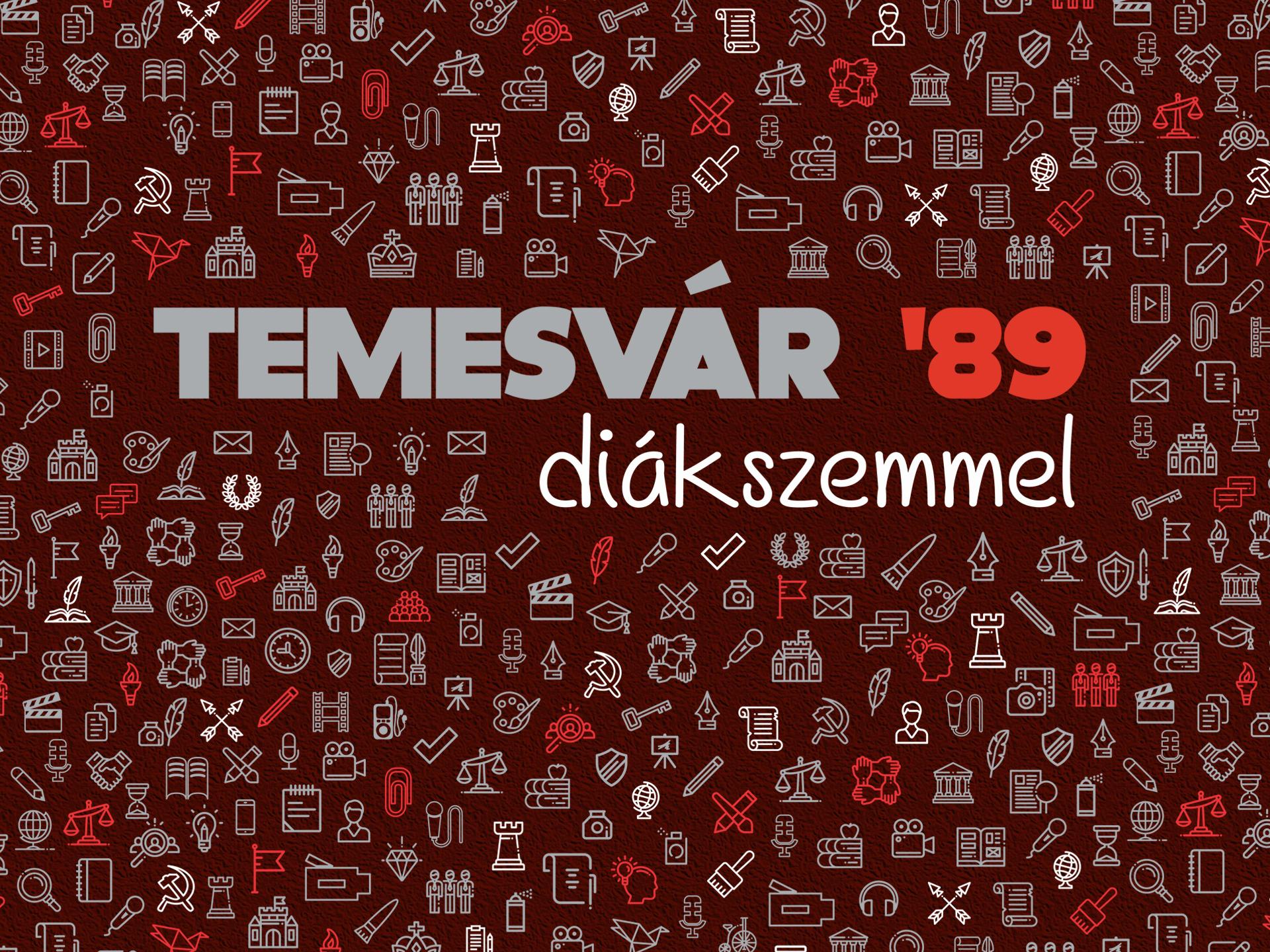 Temesvár '89 diákszemmel – találkozó